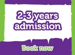 Lemur Landings - Weekday Session 2 - Child Admission 2 - 3 years old